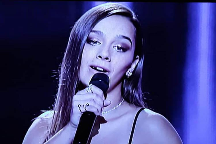 Maria despede-se do The Voice mas deixa Vizela orgulhosa