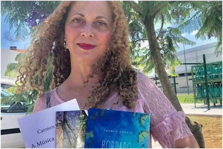 """Carmen Cardin em Vizela para apresentar """"Bordado de Brisa"""" - Rádio ..."""